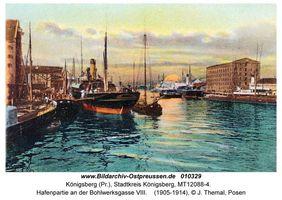 Königsberg (Pr.), Stadtkreis Königsberg Bohlwerksgasse
