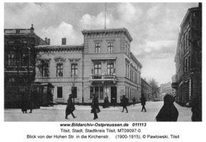 Tilsit, Stadt, Stadtkreis Tilsit Kirchenstraße