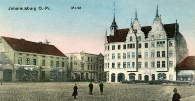 Johannisburg, Kreis Johannisburg Markt