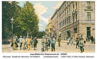 Allenstein, Stadtkreis Allenstein Hindenburgstraße