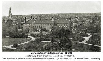 Insterburg, Stadt, Stadtkreis Insterburg Brauereistraße 5