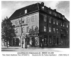 Tilsit, Stadt, Stadtkreis Tilsit Deutsche Straße 69
