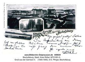 Bischofsburg, Stadt, Kreis Rößel