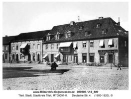 Tilsit, Stadt, Stadtkreis Tilsit Deutsche Straße 4