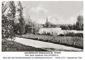 Tilsit, Stadt, Stadtkreis Tilsit Oberbürgermeister-Pohl-Promenade