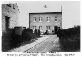 Neukirch, Ort, Kreis Elchniederung Tilsiter Straße
