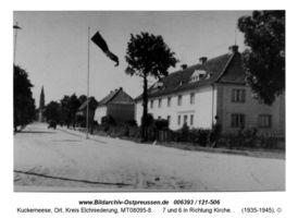 Kuckerneese, Ort, Kreis Elchniederung Dammstraße 8,7,6