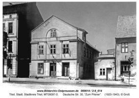 Tilsit, Stadt, Stadtkreis Tilsit Deutsche Straße 30