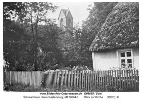 Schwarzstein Kr. Rastenburg, Kreis Rastenburg