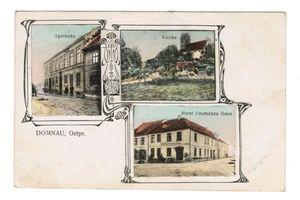 Domnau, Stadt, Kreis Bartenstein