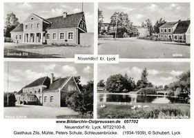 Neuendorf Kr. Lyck, Kreis Lyck