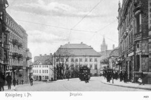 Königsberg (Pr.), Stadtkreis Königsberg Bergplatz
