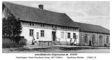 Hanshagen, Kreis Preußisch Eylau