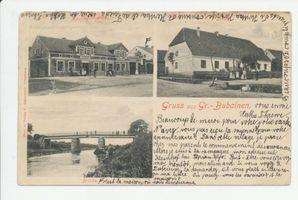 Waldhausen Kr. Insterburg, Ort mit Domäne und Strommeisterei, Kreis Insterburg
