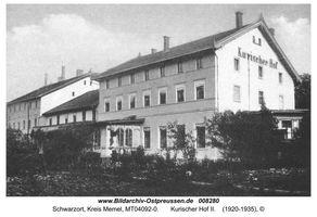 Schwarzort, Kreis Memel