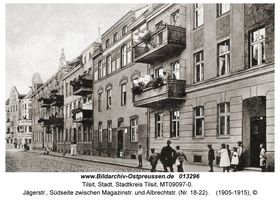 Tilsit, Stadt, Stadtkreis Tilsit Jägerstraße 18-22