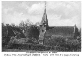 Weidenau (Ostpr.), Kreis Tilsit-Ragnit