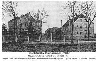 Neuendorf Kr. Rastenburg, Kreis Rastenburg