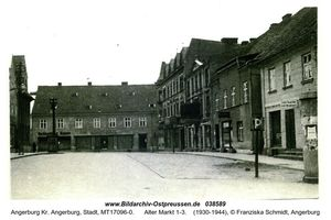 Angerburg Kr. Angerburg, Stadt, Kreis Angerburg Alter Markt 1-3
