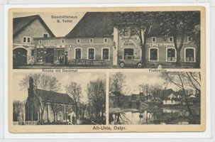Alt Ukta, Ort, Kreis Sensburg