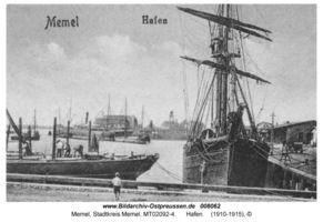 Memel, Stadt, Stadtkreis Memel