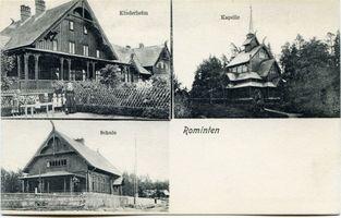 Hardteck, Ort und Bahnstation, Kreis Goldap