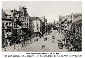 Tilsit, Stadt, Stadtkreis Tilsit Am Hohen Tor