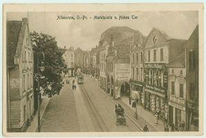 Allenstein, Stadtkreis Allenstein Marktplatz
