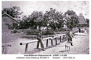 Lentzienen, Kreis Ortelsburg