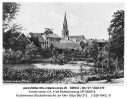 Kuckerneese, Ort, Kreis Elchniederung Badestraße