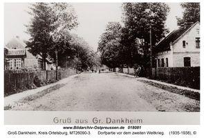 Groß Dankheim, Kreis Ortelsburg