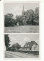 Schlobitten, Ort mit Schloß und Oberförsterei, Kreis Preußisch Holland