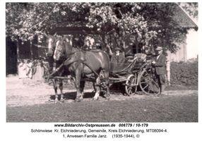 Schönwiese Kr. Elchniederung, Gemeinde, Kreis Elchniederung