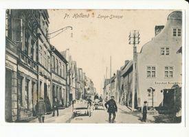 Preußisch Holland, Stadt, Kreis Preußisch Holland Lange Straße