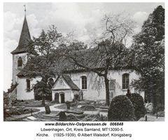 Löwenhagen, Ort, Kreis Samland