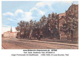 Tilsit, Stadt, Stadtkreis Tilsit Angerpromenade
