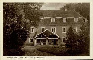 Annawalde, Gut, Kreis Gerdauen