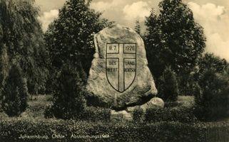 Johannisburg, Kreis Johannisburg Lupker Chaussee