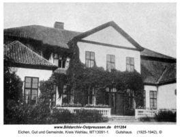 Eichen Kr. Wehlau, Gut und Gemeinde, Kreis Wehlau